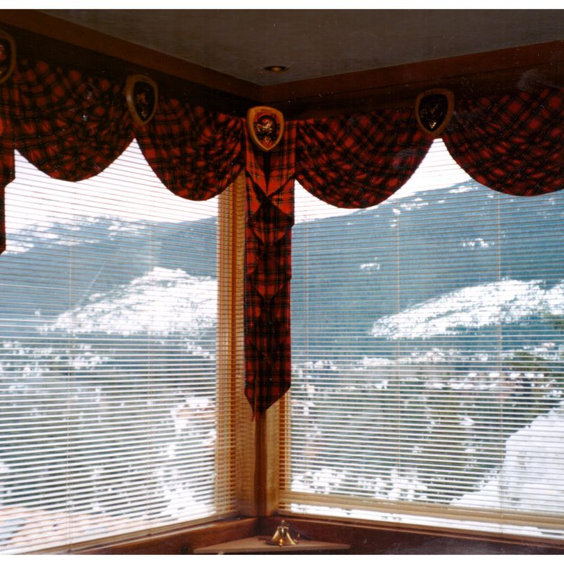 Whistler Blueberry Hill Wood Blinds and Swags