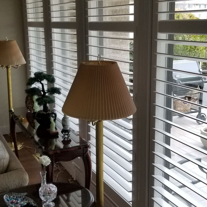 "4 1/2"" Bladed Shutters add elegance to any Room"