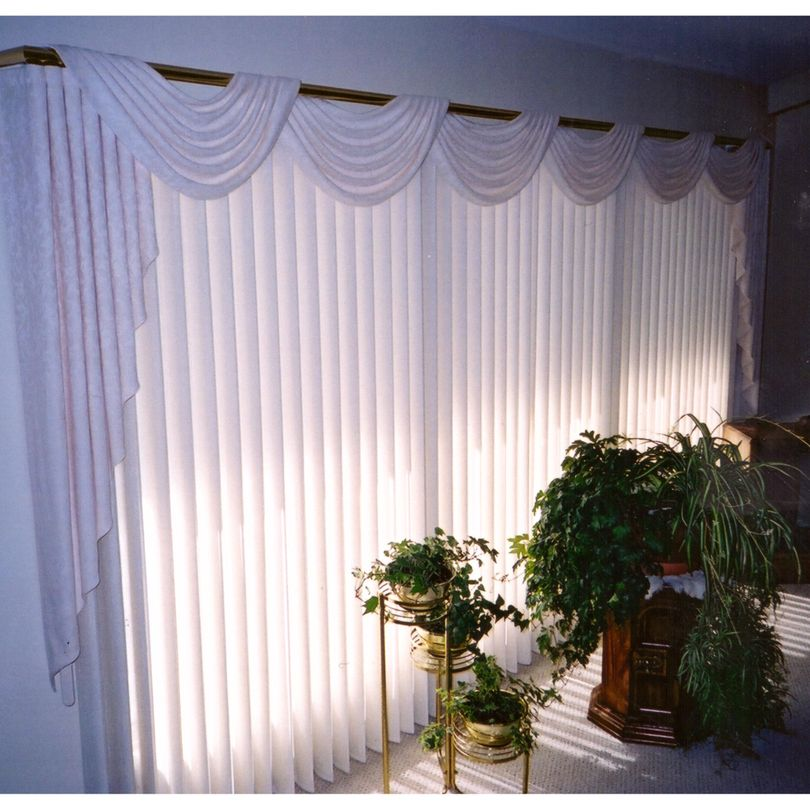 Privacy Sheer and Swags